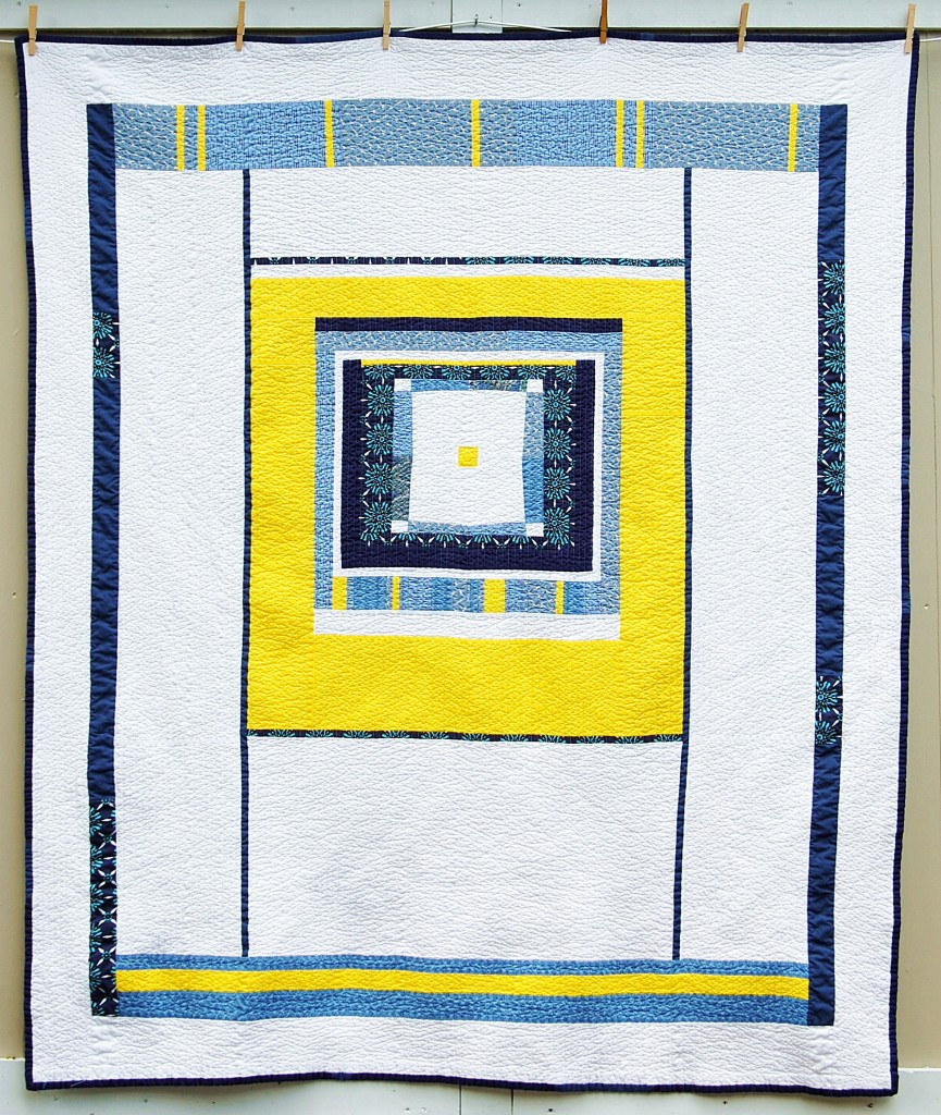 Yellow Blue Quilt