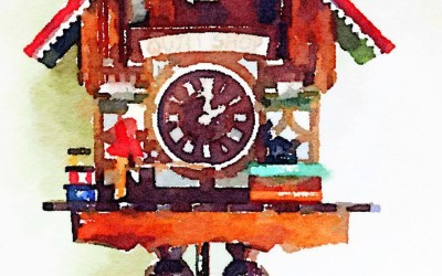 Quilt Shop Cuckoo Clocks – Retro coolness in the extreme.