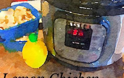 The BadAss Quilter Cooks – Lemon {Mushroom} Chicken