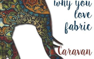 Fall in Love with Fabric Once Again… Caravan Giveaway